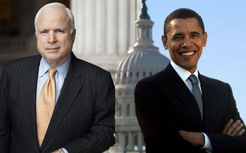 McCain Vs. Obama on Science