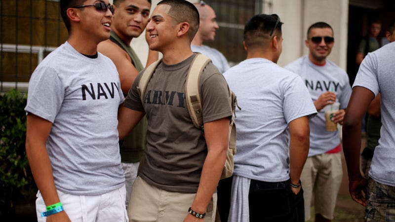 Gay Soldiers Sue Government for Equal Protection for Spouses