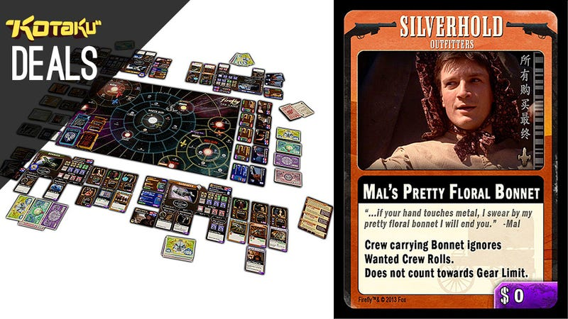 The Firefly Board Game, All the X-Files, New Humble [Deals]