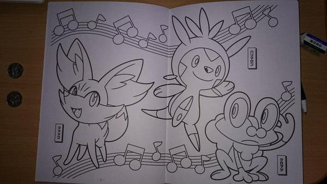 Pokémon Coloring Books Make for Terrifying Doodles