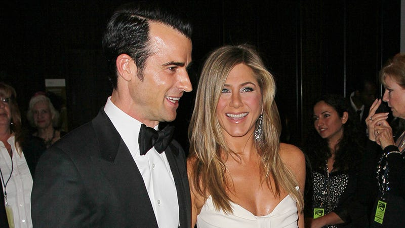 In Which Jennifer Aniston and Justin Theroux Look Gorgeous and Ridiculously Happy