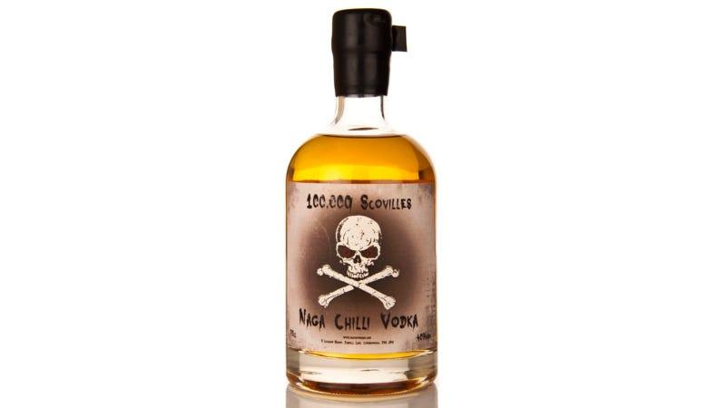 100,000-Scoville Vodka Will Put Hair on Your Chest, Then Set It on Fire