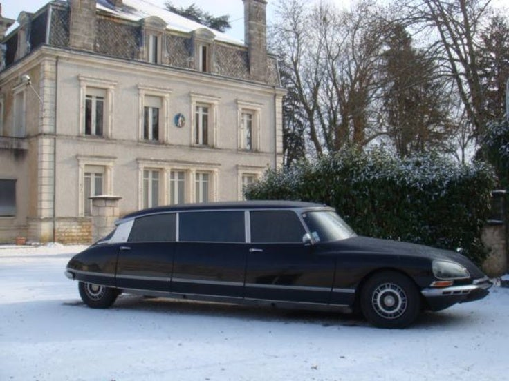 Citroën stretch limos: they exist