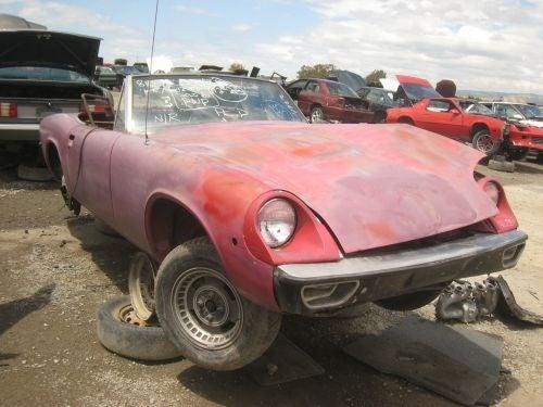 Lotus Engine Won't Be Hauling This Jensen-Healey Away From the Crusher's Cruel Jaws