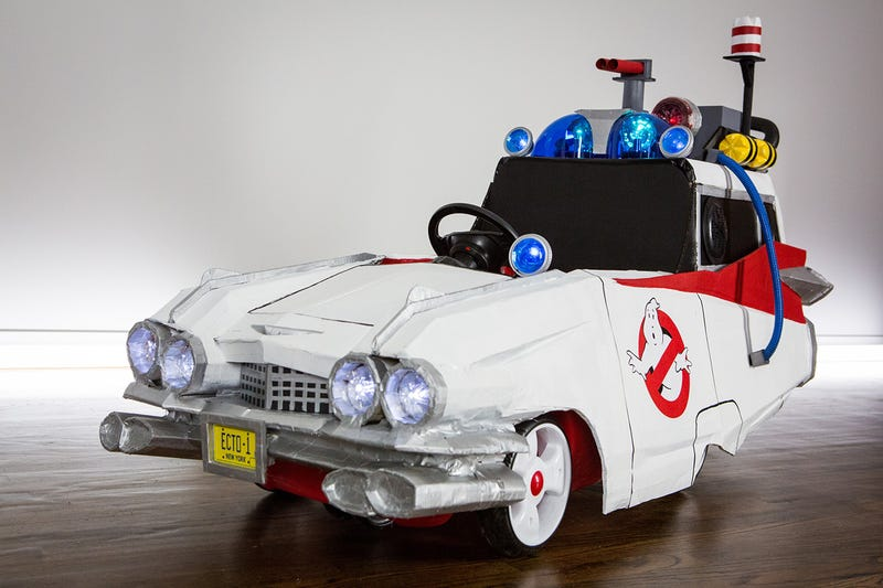 Who You Gonna Call? The Littlest Ghostbuster and His Adorable Ecto-1