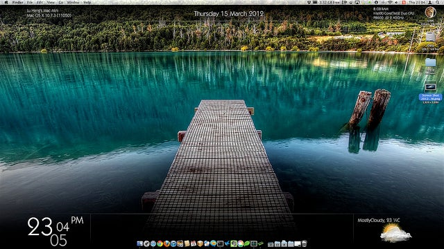 The Clear Blue Desktop