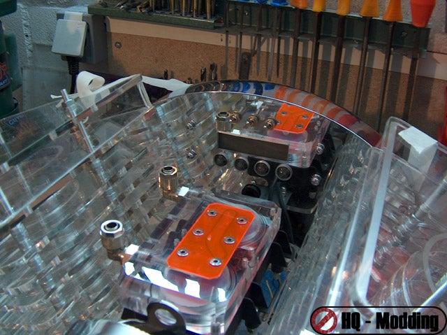 Projekt V2 Harley Davidson Case Mod is a Real Running Engine (Kinda)