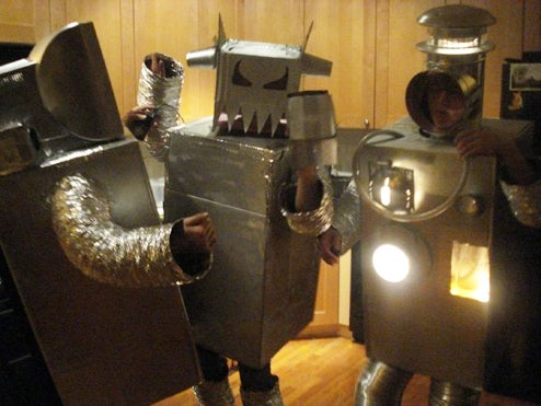 Halloween Costume Competition: Robots Turn on Humans
