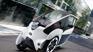 Toyota I-Road Concept Looks Both Fun And A Lot Like An Old Benz Concept