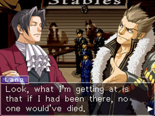 Try A Little Miles Edgeworth On For Size