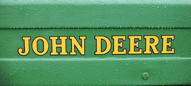 John Deere Thinks People Will Pirate Music With In-Car Computers