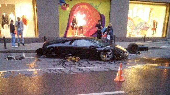 Massive Russian Lamborghini Crash Was Somehow Not Captured On Dash Cam
