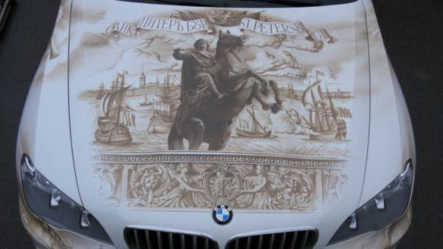 Ridiculous Airbrushed BMW X5 Is A Truly Russian Creation