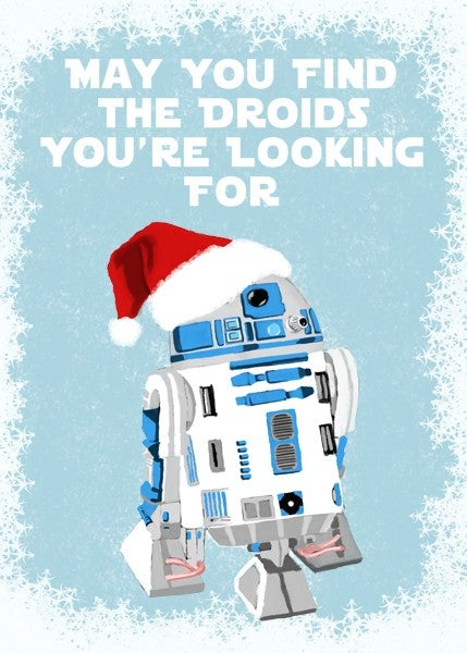 The Year's Very Best Geeky Holiday Cards