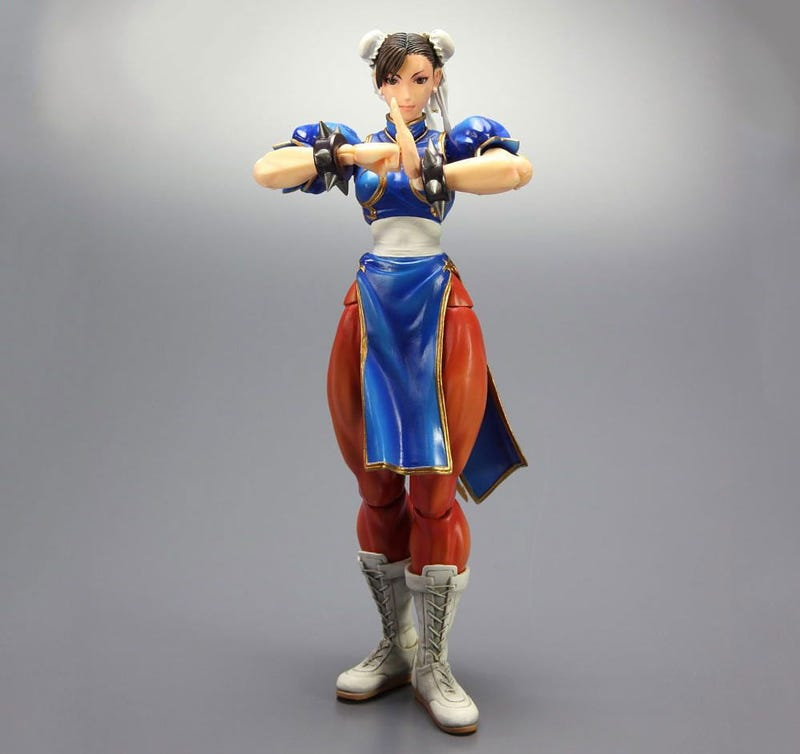 Square Enix Gets Chun-Li's Thighs Right (But Not the Knees)