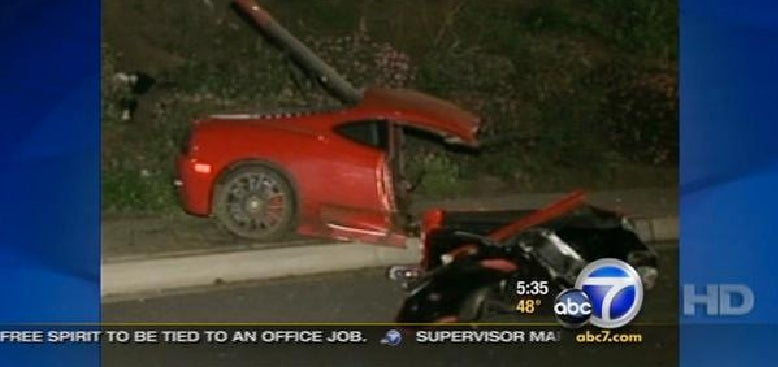 Stefan Eriksson-Wannabe Slices Ferrari In Half In Deadly Accident