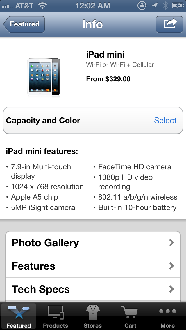 You Can Pre-Order the iPad Mini Right Now