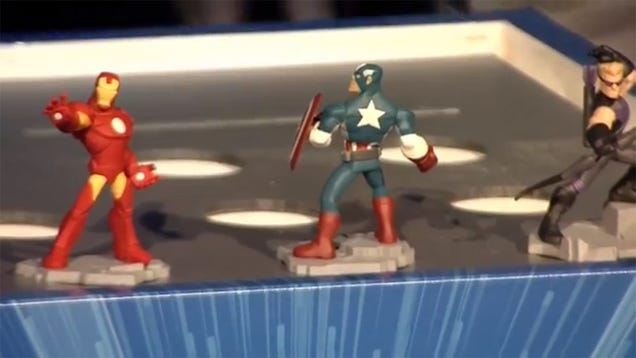 Disney Infinity Marvel Superheroes Coming This Fall