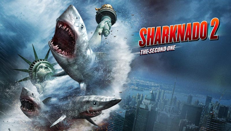 This Week's TV: It's Sharktopus Vs. Pteracuda Vs. A Second Sharknado!
