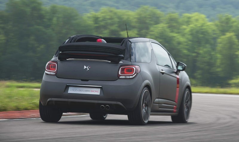 The DS3 Cabrio Racing Concept Is A Topless French Hot Hatch