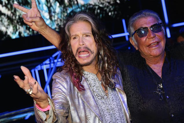 Steven Tyler Is Down With You Sitting On His Face, Ladies