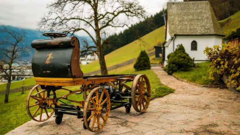Porsche's First Car Found After Being Left In A Shed For 112 Years