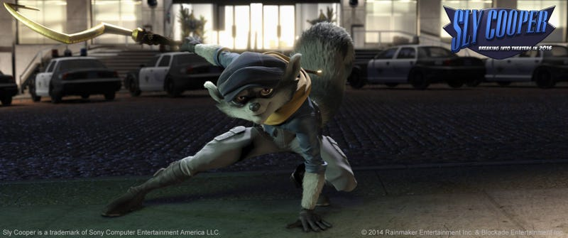 First Look at the Sly Cooper Movie [UPDATE: Trailer Available]