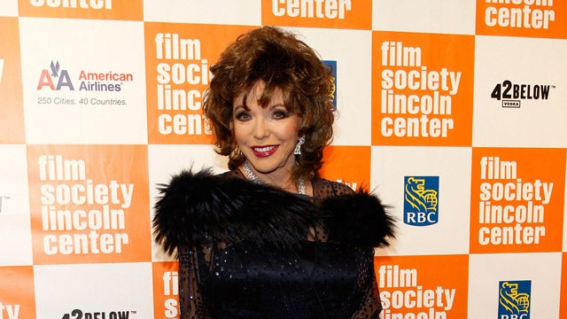 Joan Collins Hates On Pretty Much Every Female Celebrity