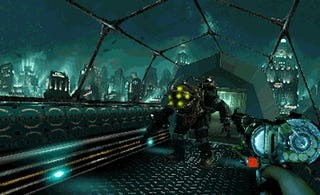 Imagining Bioshock As A PS1 Game