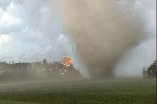 Minnesota Gets Hit With Multiple Tornadoes