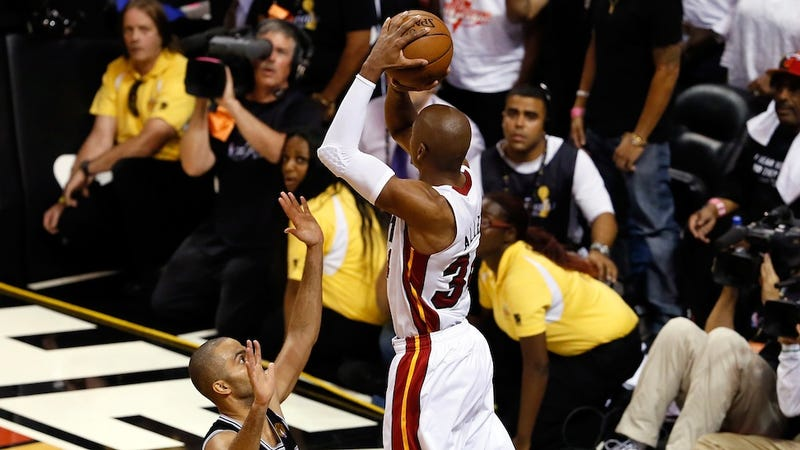 Calling Ray Allen's Shot A Miracle Is An Insult To Ray Allen
