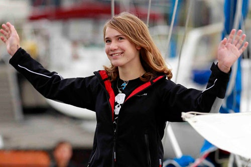 Dutch Teen Attempts To Break Solo Sailing Record