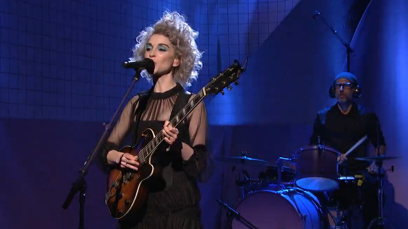 Sunday Night Sign-Off: St. Vincent Has Some Tasty Licks