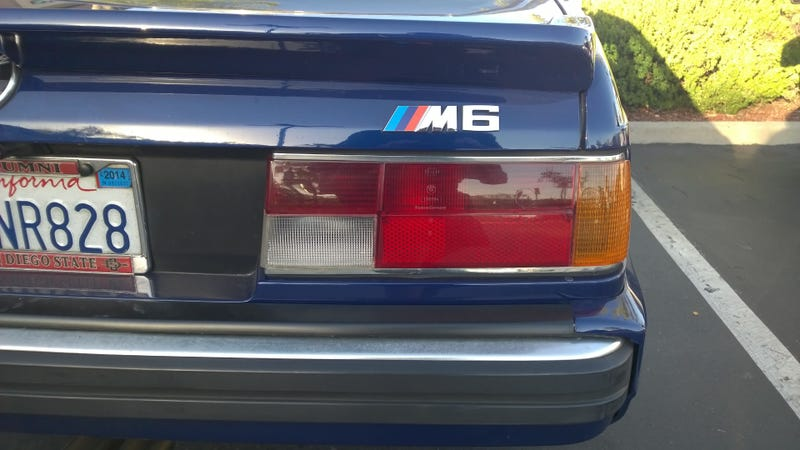 Found on the Street: BMW E24 M6 (History Lesson Edition)