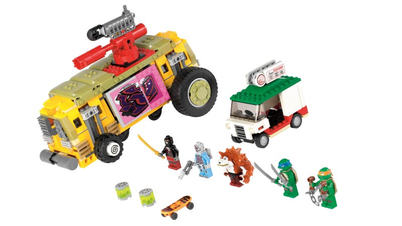 Lego Teenage Mutant Ninja Turtles Official Collection, People!