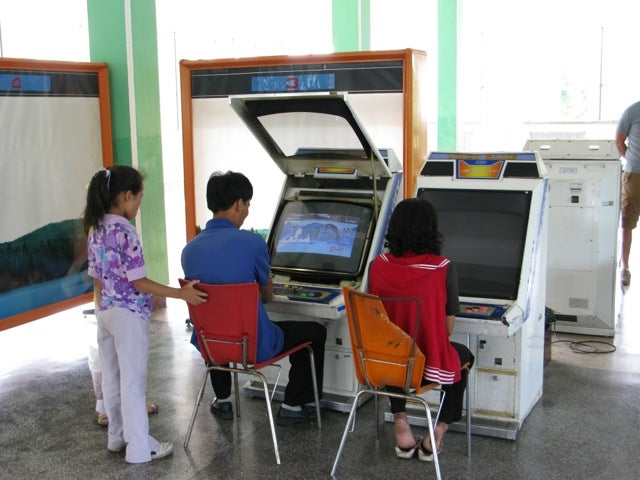 Inside North Korea's Newest Video Game Arcade
