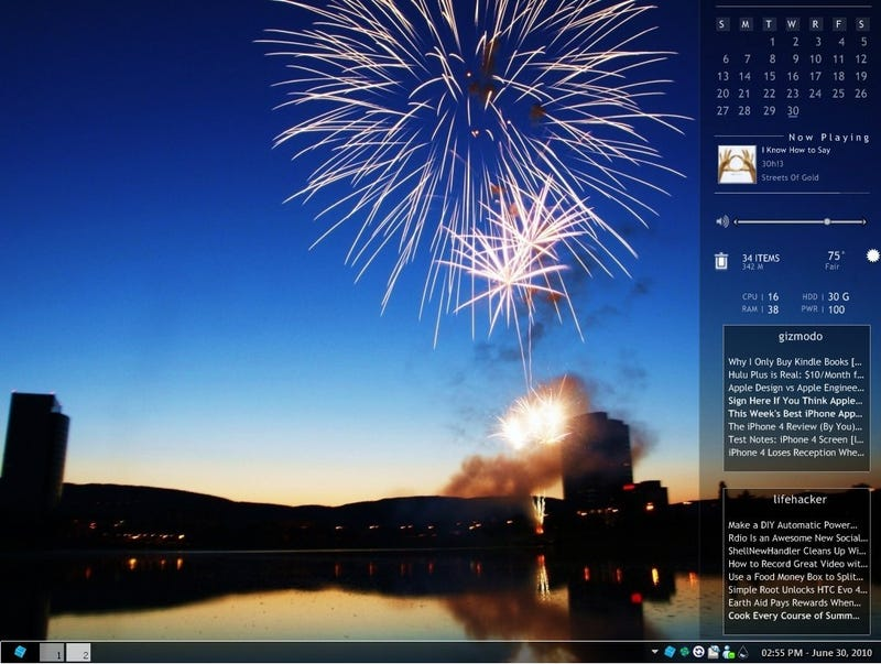 SharpEnviro Is a Smart and Crisp-Looking Windows Desktop Replacement