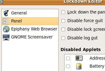 Lockdown Editor Controls Activity on Ubuntu Desktops