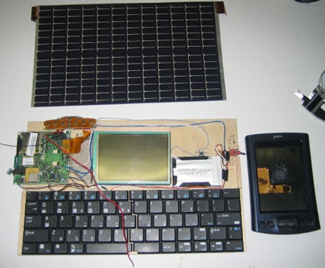 SolarPalm: Free Energy PC
