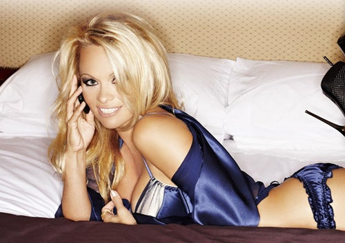 Nokia Embraces Pamela Anderson, On Film