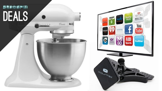 Deals: KitchenAid Mixer, Automatic Driving Assistant, Toothbrushes