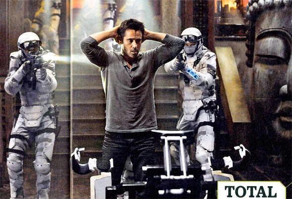 Total Recall Entertainment Weekly Picture