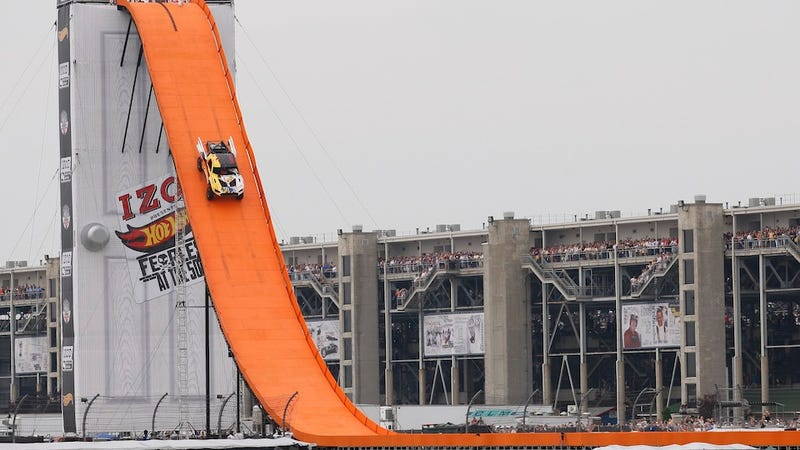 Life-Size Hot Wheels Track Breaks World Record