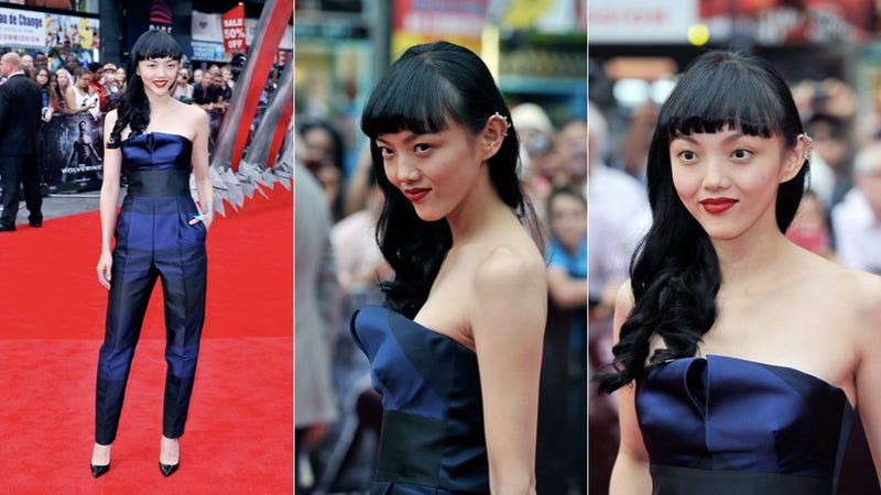 Rila Fukushima Is Wearing the Traditional Scottish 'Formal Jumpsuit'