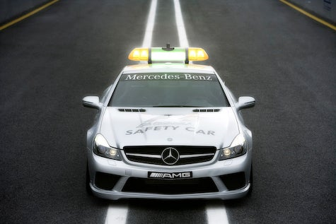 Mercedes SL63 F1 Safety Car and C63 Medical Car Revealed