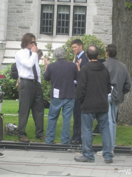 Supernatural - Season 8 Premiere Behind the Scenes