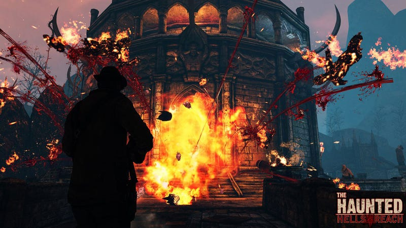 Prize Winning 'Something Unreal' Mod The Haunted Snapped Up By THQ
