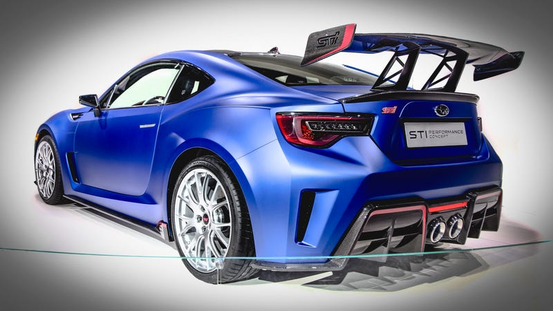 Your Ridiculously Awesome Subaru BRZ STi Wallpapers Are Here