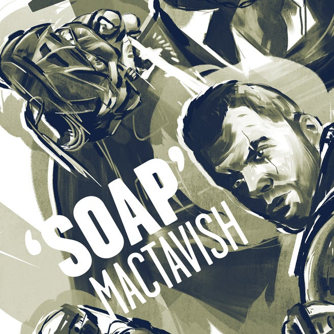 On the Eve of Modern Warfare 3, a Very Cool Illustration of Soap and the Gang