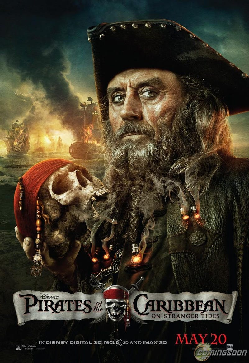 Pirates of the Caribbean: On Stranger Tides posters